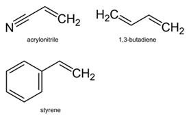 Caratteristiche ABS - formula chimica